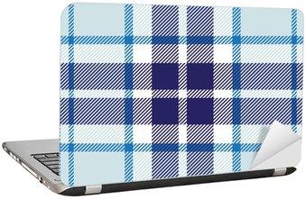 Nálepka na Notebook Vektorové bezešvé tartan přehoz vzor