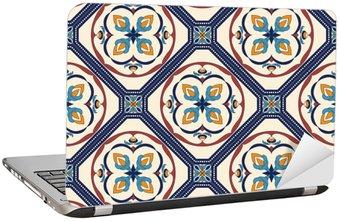 Nálepka na Notebook Vektorové bezešvé textury. Krásný barevný vzor pro design a módu s ozdobnými prvky