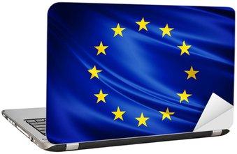 Nálepka na Notebook Vlajka Evropské unie