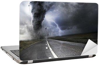 Nálepka na Notebook Výkonný Tornado