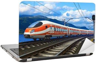 Nálepka na Notebook Vysokorychlostní vlak