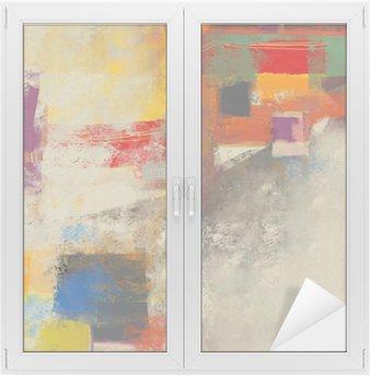 Nálepka na Sklo a Okna Abstrakce