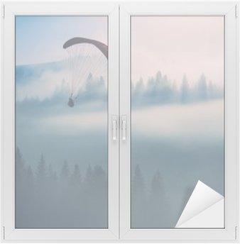 Nálepka na Sklo a Okna Chcete-li na obloze