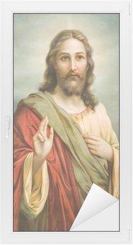 Nálepka na Sklo a Okna Kopie typické katolické obrazu Ježíše Krista