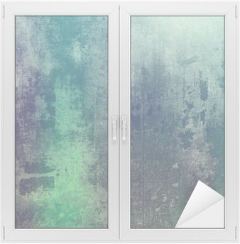 Nálepka na Sklo a Okna Staré textury jako abstraktní pozadí grunge. S různými barevnými vzory: zelená; fialová (fialová); šedá; tyrkysová