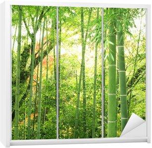 Nálepka na Skříň Bamboo