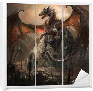 Nálepka na Skříň Dragon Castle