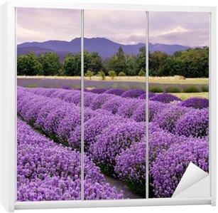 Nálepka na Skříň Lavender Farm v Sequim, Washington, USA