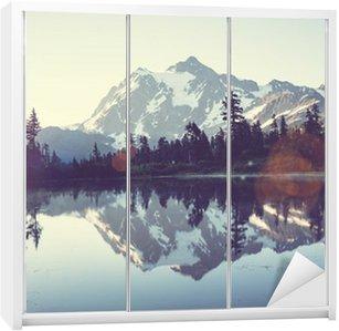 Nálepka na Skříň Obrázek Lake