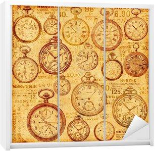 Nálepka na Skříň Spodní hodinky