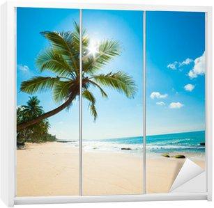 Nálepka na Skříň Tropical Beach