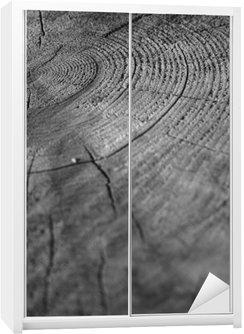 Nálepka na Skříň Wood