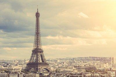 Nálepka na Stěny Eiffelova věž v Paříži