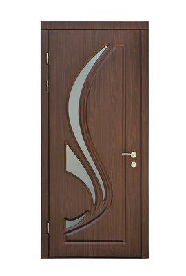 Nálepka na Stěny Hnědá vnitřní dveře
