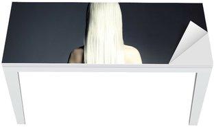 Nálepka na Stůl a Pracovní Stůl Dokonalá blondýna