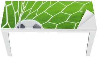Nálepka na Stůl a Pracovní Stůl Fotbalový míč v cíli
