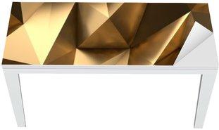 Nálepka na Stůl a Pracovní Stůl Gold Abstract 3D render pozadí