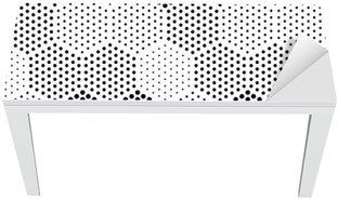 Nálepka na Stůl a Pracovní Stůl Hexagon Illusion Pattern