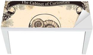 Nálepka na Stůl a Pracovní Stůl Kabinet kuriozit