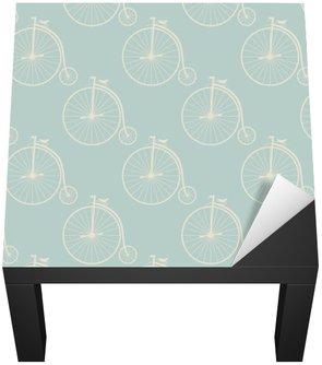 Nálepka na Stůl a Pracovní Stůl Klasická vysoká kolář bezešvé vzor