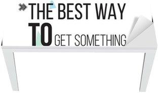 Nálepka na Stůl a Pracovní Stůl Nejlepší způsob, jak dostat něco, co je začít Motivace plakát