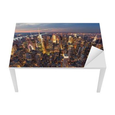 Nálepka na Stůl a Pracovní Stůl New york