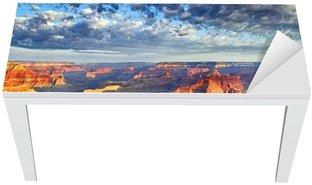 Nálepka na Stůl a Pracovní Stůl Ranní světlo na Grand Canyon