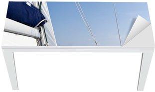 Nálepka na Stůl a Pracovní Stůl Rychlost plachetnice v moři