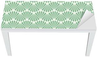 Nálepka na Stůl a Pracovní Stůl Seamless Art Deco vzor textura tapety na pozadí