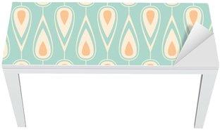 Nálepka na Stůl a Pracovní Stůl Seamless vintage pattern