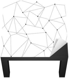 Nálepka na Stůl a Pracovní Stůl Skandinávský geometrické moderní bezešvé vzor