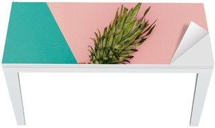 Nálepka na Stůl a Pracovní Stůl Tropical Mix. Ananas a Meloun. minimální Style