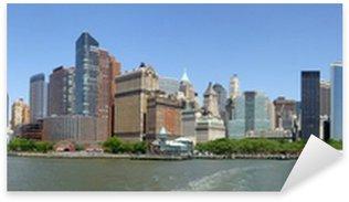 Nálepka Pixerstick New york skyline