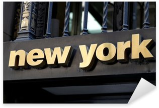 Nálepka Pixerstick New york