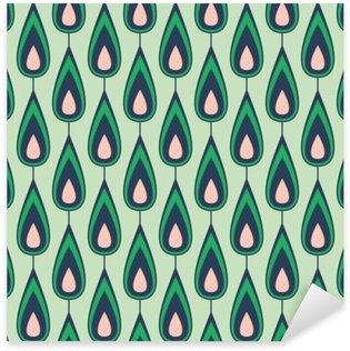 Nálepka Pixerstick Seamless vintage pattern