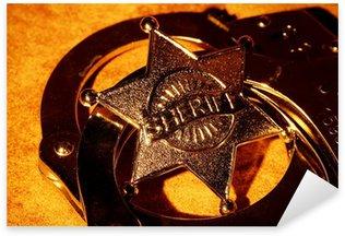 Nálepka Pixerstick Šerif