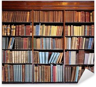 Nálepka Stará knihovna regál