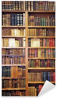 Nálepka Staré knihy, knihovna