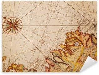 Nálepka Staré mapy detail