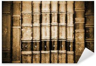Nálepka Pixerstick Starověké Bookds