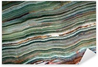 Nálepka Textura drahokam onyxu