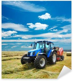 Nálepka Pixerstick Traktor