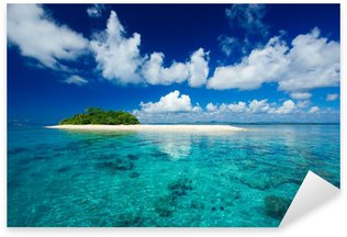 Nálepka Pixerstick Tropický ostrov dovolená ráj