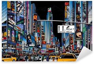 Nálepka Pixerstick Ulice v New Yorku