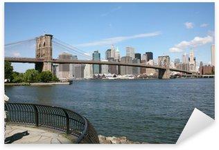Nálepka Pixerstick Usa new york