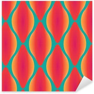 Nálepka Pixerstick Vektor barevné abstraktní moderní bezešvé geometrický vzor