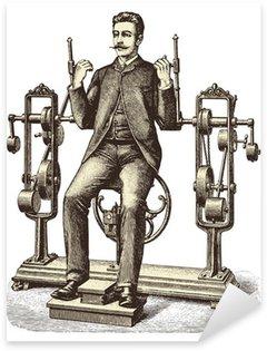 Nálepka Pixerstick Victorian cvičení (1)