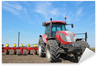 Nálepka Pixerstick Zemědělské stroje, setí