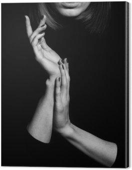 Obraz na Aluminium (Dibond) Femme fatale koncepcji. Stare klasyczne filmy w stylu aktorką.