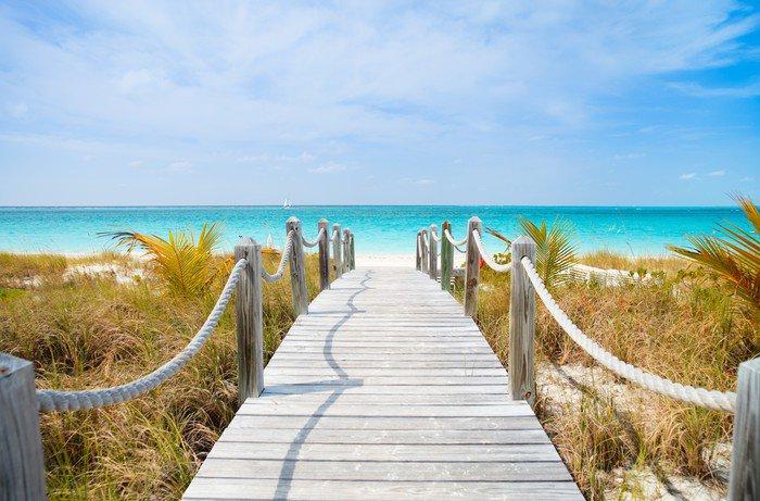 Obraz na PCV Karaiby plaży - Tematy